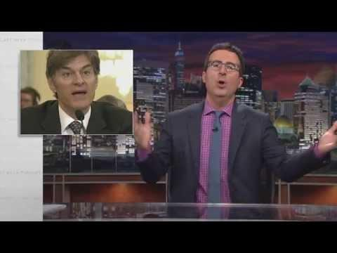 John Oliver's Take On Dr Oz And His Support For Weight Loss Supplements
