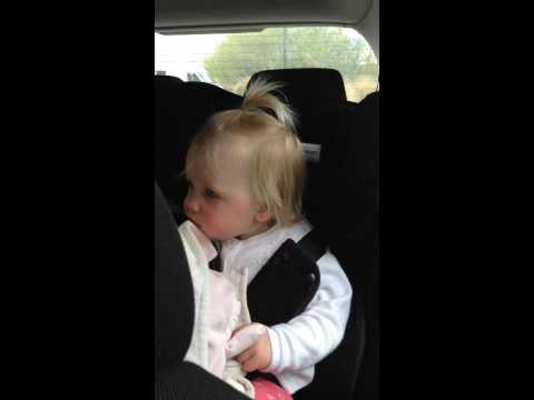 Baby Girl Dances To Ed Sheeran's Don't Song