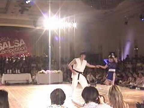 Ryu And Chun Li Show Off Salsa Dance Moves