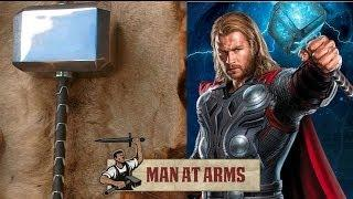 Man At Arms Creates Exact Replica Of Thor's Hammer