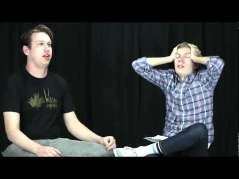 Chris Thayer And Pete Holmes Eat Hot Pepper And Do Interview