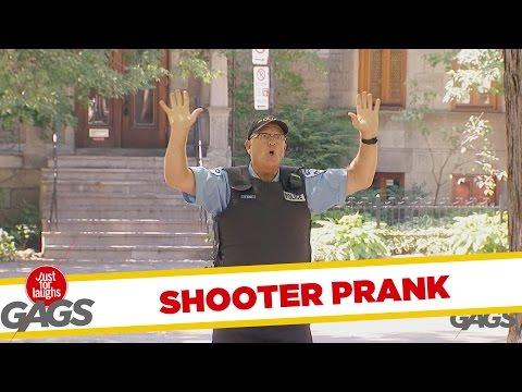Instant Shooter At The Park Prank