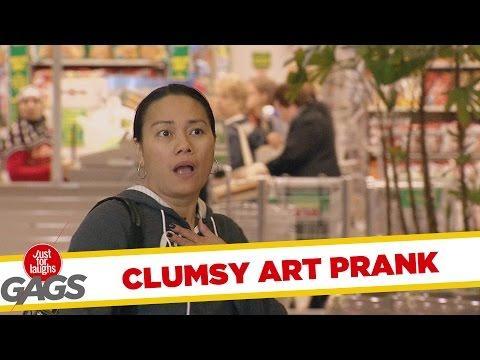 Art Exhibit Gets Destroyed Prank