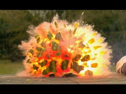 04 30 Watermelon Exploding In Slow Motion