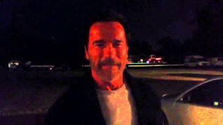 Arnold Schwarzenegger Saying Not A Tumor