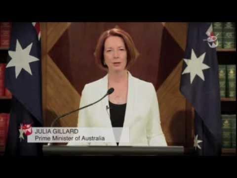 Spoofs - End Of The World Speech By Australian PM Julia Gillard