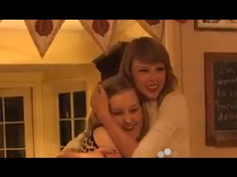 Hanging Around With Taylor Swift At her House