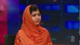 Jon Stewart Is Left Speechless By Malala Yousafzai's Answer