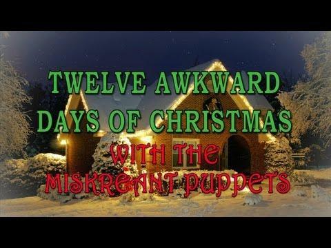 Jokes - Awkward Days Of Christmas Sung By Puppets