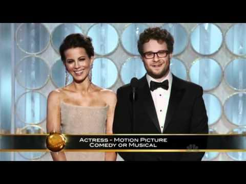 Funny Moment Of Kate Beckinsale From Golden Globes