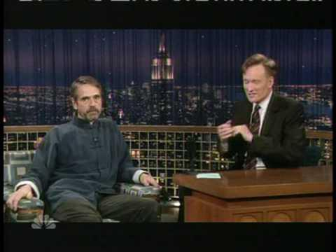 Jeremy Irons Gives Advice About Raising Kids