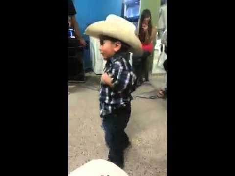 Cute Mexican Kid Shows Off His Dance Skills