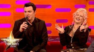 Seth MacFarlene sings Cindy Lauper Songs as Peter Griffin and Stewie