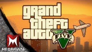 16-bit Grand Theft Auto V Trailer Spoof