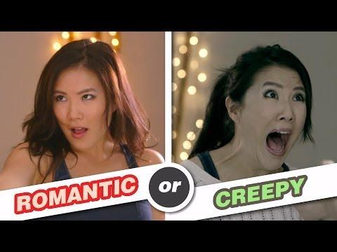 Difference Between Creepy And Romantic Guys