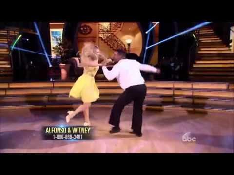Alfonso Ribeiro & Witney's Carlton Dance On The Dancing With The Stars