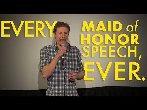 Funny Standup About Maid Of Honor By Owen Weber