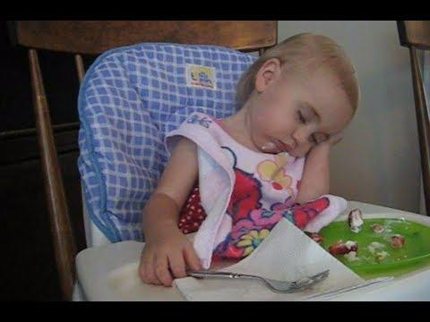 Cute - Babies Falling Asleep Compilation