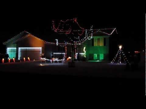 Awesome - Skyrim Theme Christmas House Light Show