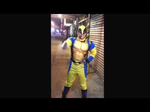 Wolverine's Funny Dance To All The Single Ladies By Beyonce