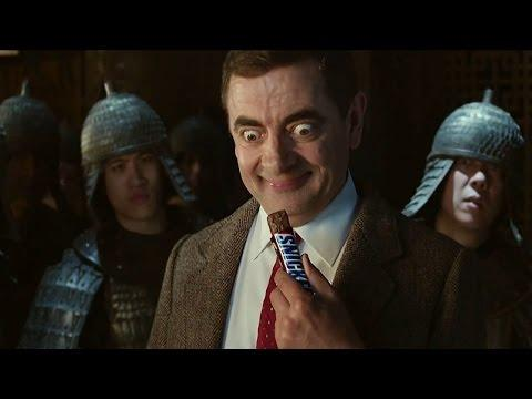 You Can't Fight Like A Warrior When You're Hungry Ad Starring Mr Bean