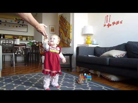 Baby Learning To Walk Time Lapse