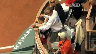 Dad Misses Foul Ball And Kid Attacks Him