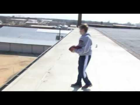 WIN - 12 Year Old Makes Football Trick Shots
