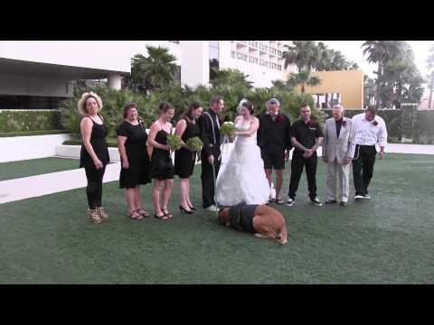Wedding Photo Shoot With The Dog Fail