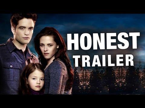 Jokes - Honest Twilight 4 Breaking Dawn Trailer