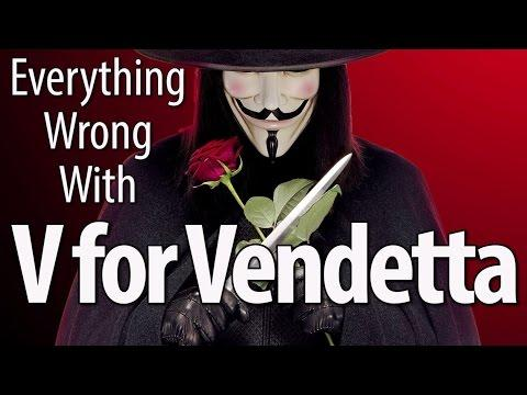 Movie Mistakes From V For Vendetta