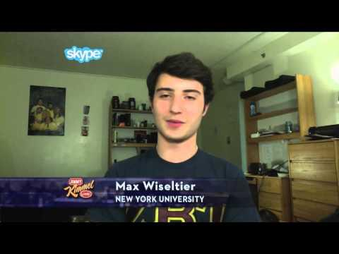 Jimmy Kimmel - Interview With Max Wiseltier Who Replied All