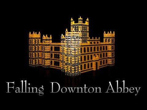 Downton Abbey Building Dominoes