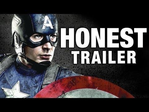 Honest Captain America - The First Avenger Movie Trailer