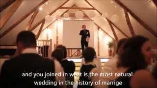 Wedding Speech Inspired By Bill Pullmans Independence Day Speech