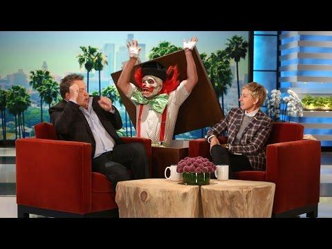 Ellen's Funny Scare Prank On Eric Stonestreet
