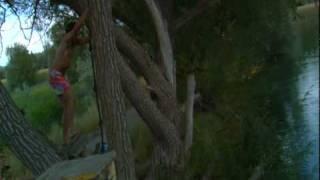Painful Tarzan Rope Swing FAIL