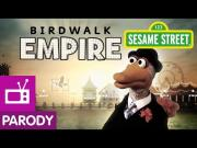 Funny Boardwalk Empire Parody By Sesame Street