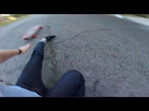 Skateboarder Dislocates And Fractures His Angle
