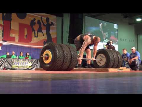 Game Of Thrones Actor Hafthor Bjornsson Deadlifts 994 pounds
