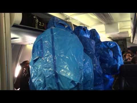 US Airways Flight 845 Flight Passengers Ebola Scare Prank