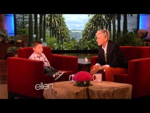 Ellen - 3 Years Old Dustin Sings Nicki Minaj's Song