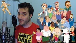 Funny Family Guy Character Impressions