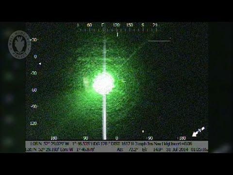 What Happens When You Point A Laser Pointer At The Police Helicopter