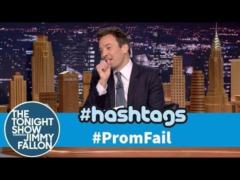 Funny Prom Fail Hashtag By Jimmy Fallon