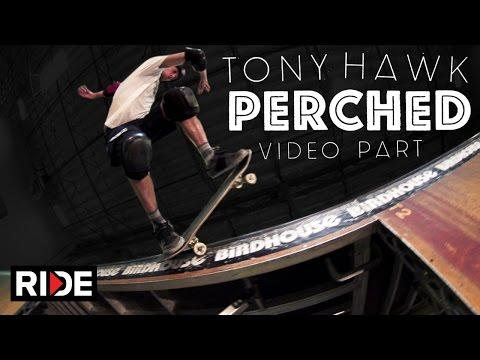 Tony Hawk Shows Off Skateboarding Skills