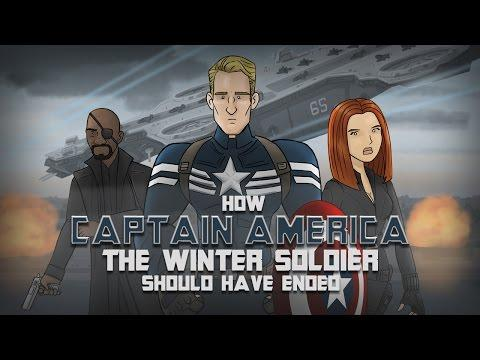 How Captain America - The Winter Soldier Movie Should Have Ended