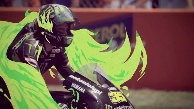 Motorcycle Racing With Cool Special Effects