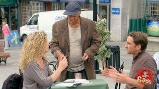 Women Give Jewelries To Homeless Man Prank