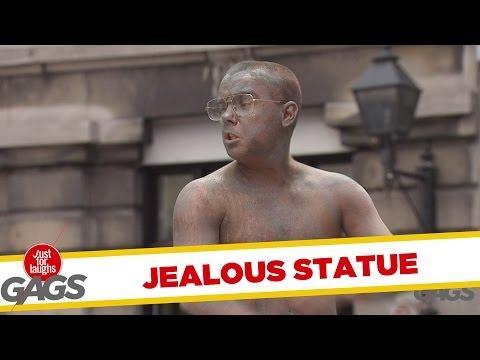 Real Life Statue Prank